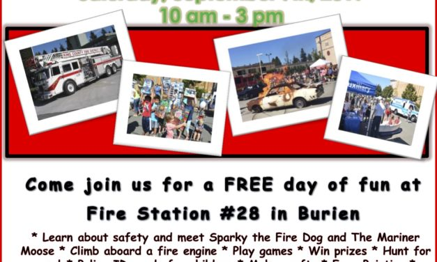 Firefighters hold FREE 'Kids' Day' this Saturday, Sept. 7