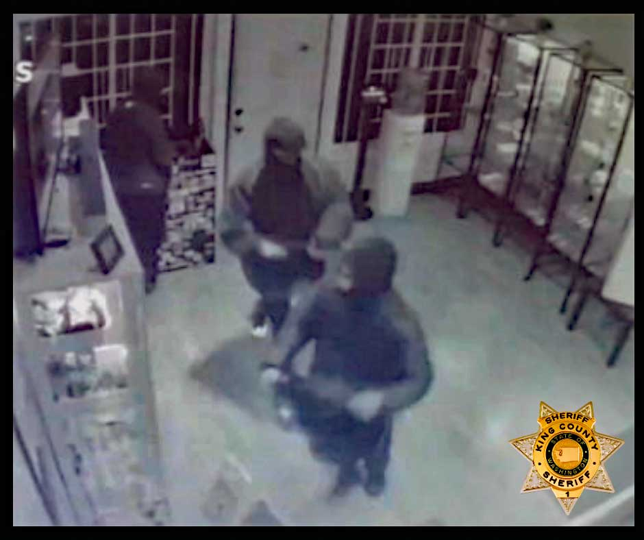 Police seeking help finding 'dangerous, armed' White Center pot shop robbers 6