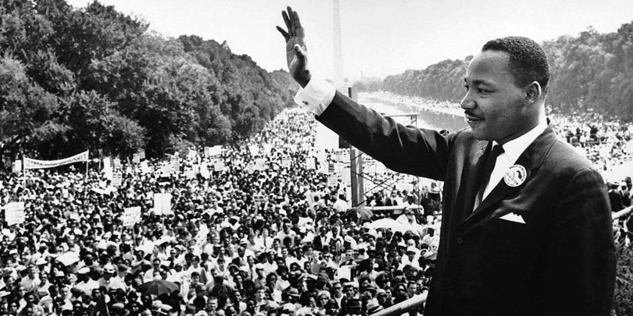A few moments with Dr. Martin Luther King, Jr.