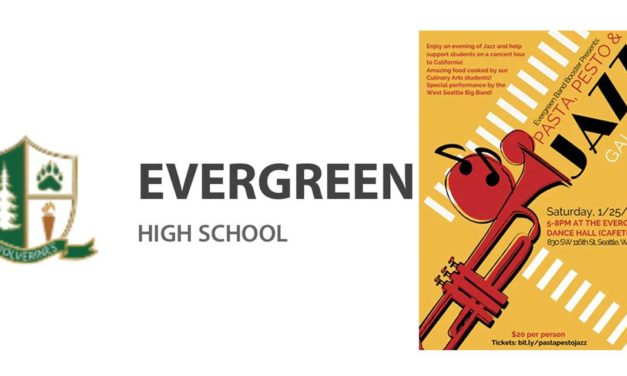 Evergreen High School's 'Jazz Night' will be Saturday, Jan. 25