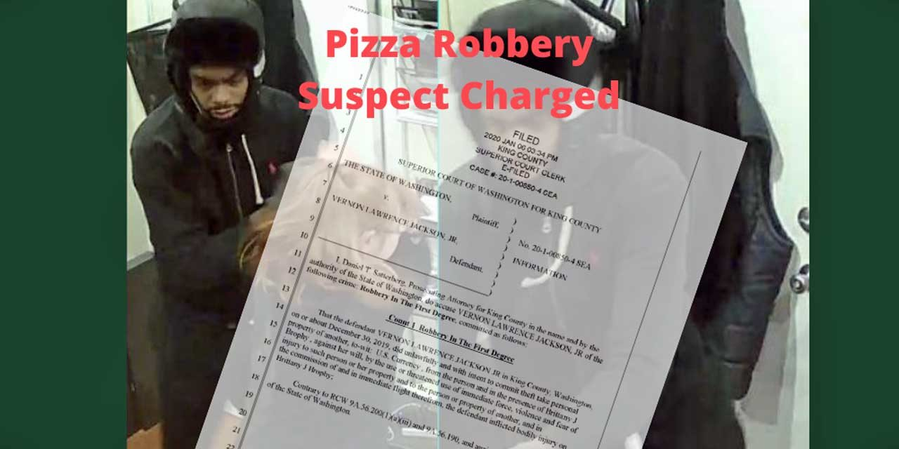 FOLLOWUP: Suspect charged after only getting $40 from pizza shop robbery