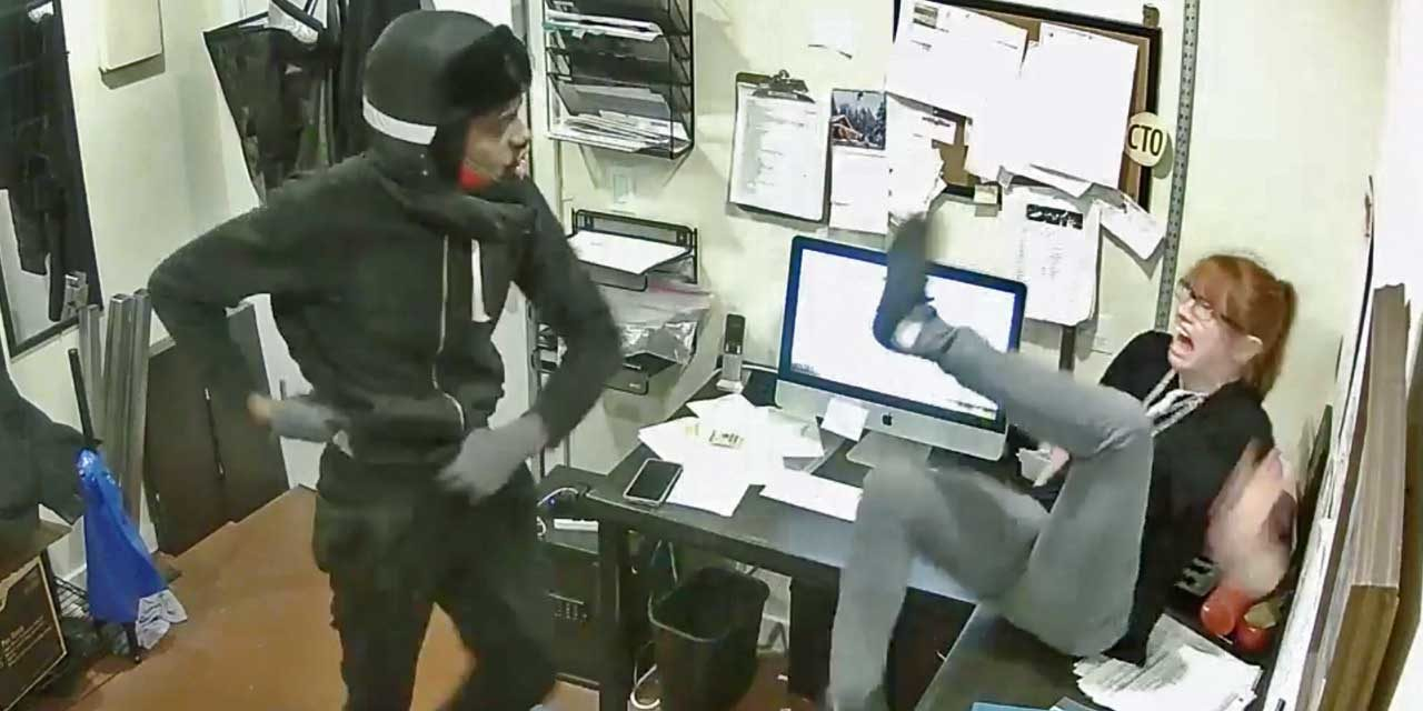 VIDEO: Police release 'terrifying' video of robbery of White Center pizza shop