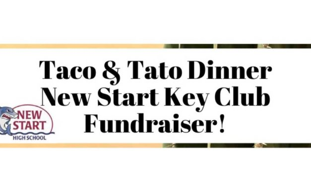 REMINDER: 'Taco & Tato' fundraiser will be Thursday night at New Start High School
