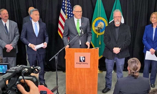 Gov. Inslee bans events of over 250 people in 3 counties to protect from coronavirus outbreak