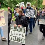 VIDEO: Around 1,000 turn out for Normandy Park Black Lives Matter Silent March
