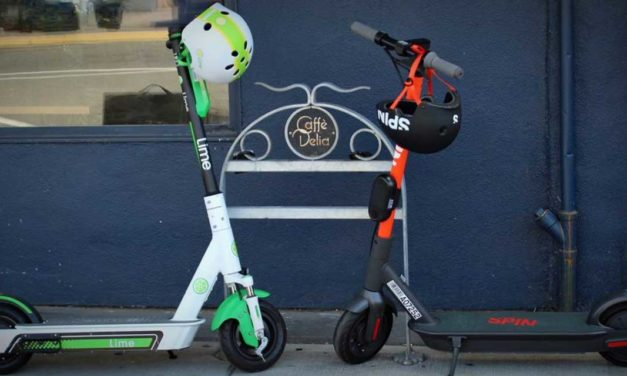 Second E-Scooter company 'Spin' joins White Center pilot project
