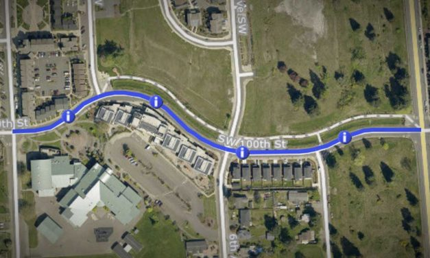 TRAFFIC ALERT: Roundabout center island painting will be Sept. 11-12