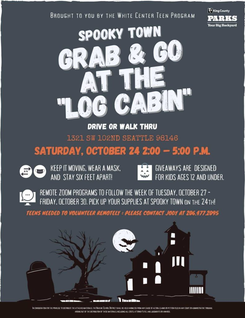'Family Spooky Town Grab and Go' will be Sat., Oct. 24 at Steve Cox Memorial Park 1