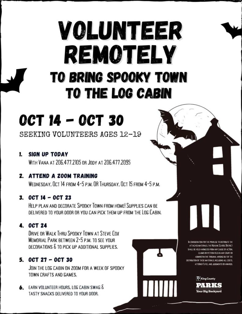 'Family Spooky Town Grab and Go' will be Sat., Oct. 24 at Steve Cox Memorial Park 2
