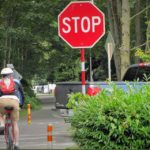 Tracy Codd: Washington State bicyclists now allowed to yield at stop signs rather than come to complete stop