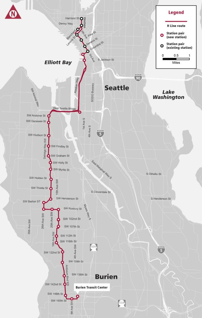 Ground breaking marks launch of construction of future RapidRide H Line 1